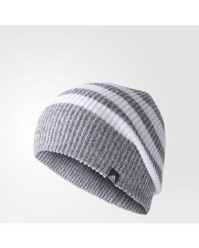 Вязаная шапка бини - черная Adidas