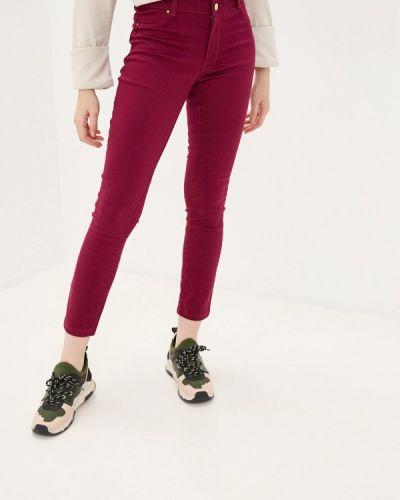 Повседневные фиолетовые брюки Sh