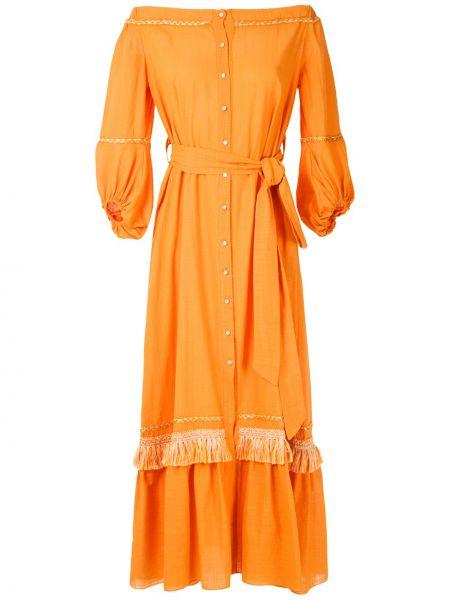 Платье с бахромой Clube Bossa