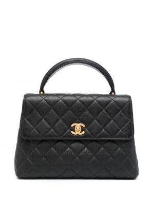 Teczka skórzana - czarna Chanel Pre-owned