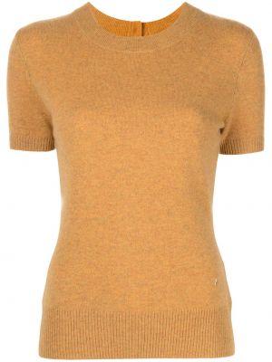 Pomarańczowa koszulka krótki rękaw Altuzarra