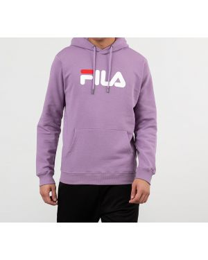 Толстовка с капюшоном фиолетовый Fila