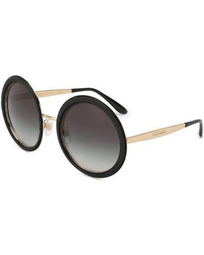 Черные солнцезащитные очки Dolce & Gabbana