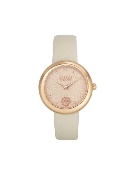 Złoty zegarek - beżowy Versus Versace