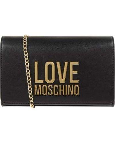 Kopertówka - czarna Love Moschino