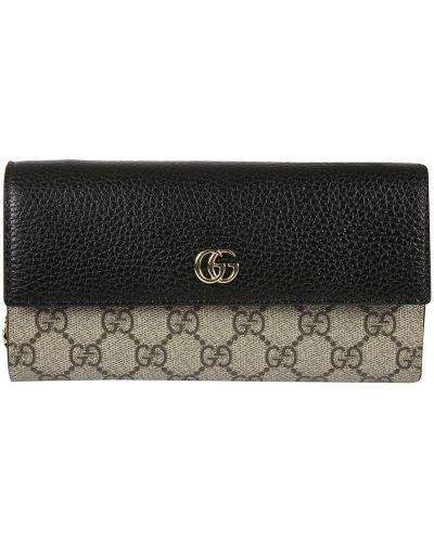 Beżowy portfel Gucci