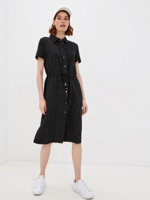 Черное платье-рубашка Profito Avantage