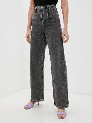 Широкие джинсы - серые Mossmore