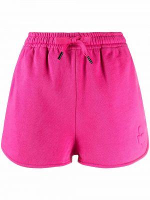 Розовые хлопковые шорты Isabel Marant étoile