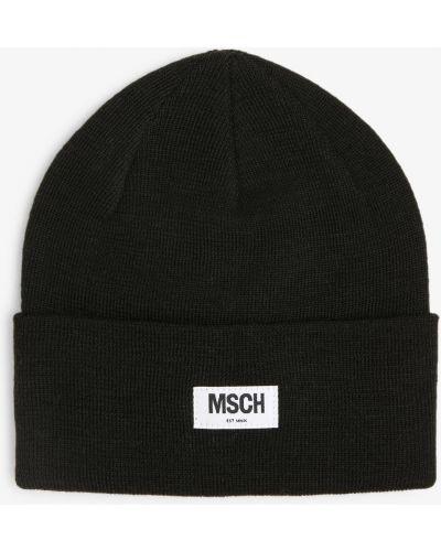Czarna czapka Moss Copenhagen