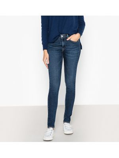 Зауженные джинсы-скинни с заклепками с карманами с пайетками Reiko