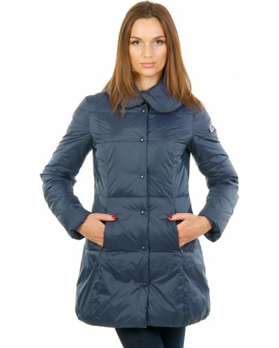 Синее пальто осеннее Armani Jeans