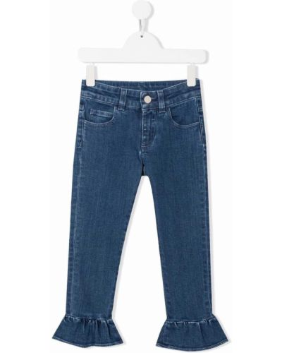Niebieskie mom jeans bawełniane Simonetta
