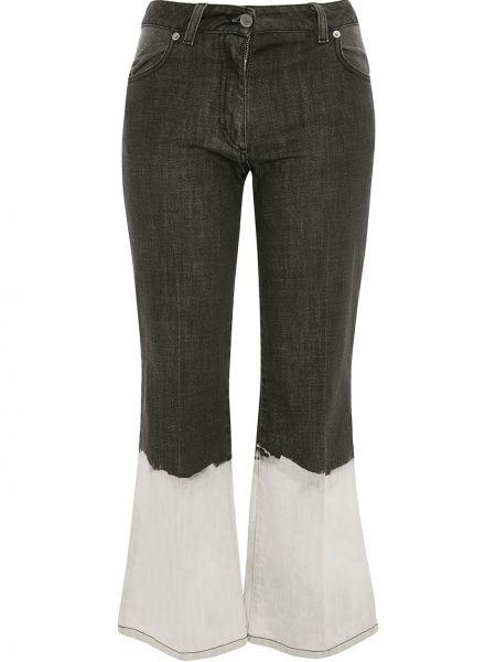 Расклешенные джинсы-скинни с пайетками Jw Anderson