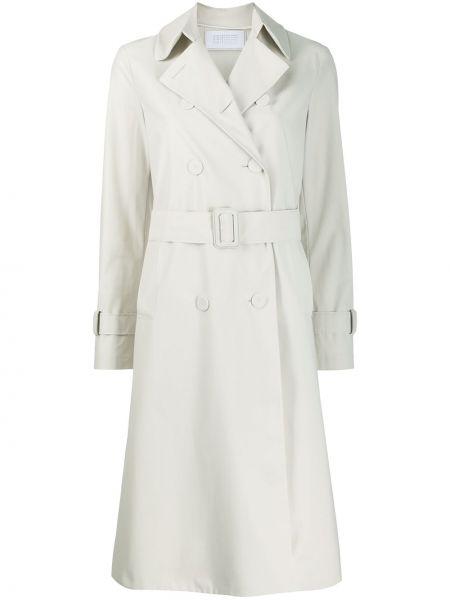Длинное пальто пальто-тренч с поясом Harris Wharf London
