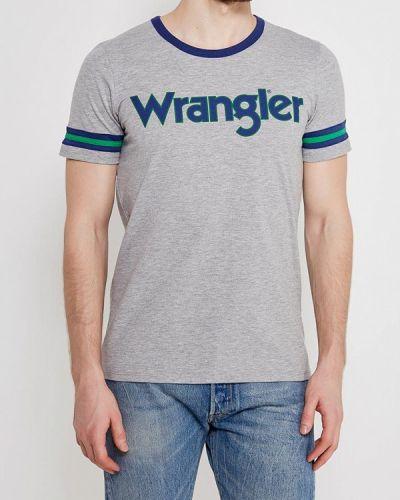 Серая футболка Wrangler