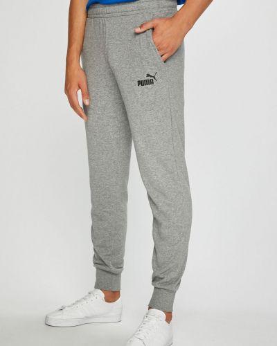 Спортивные брюки на резинке с карманами Puma