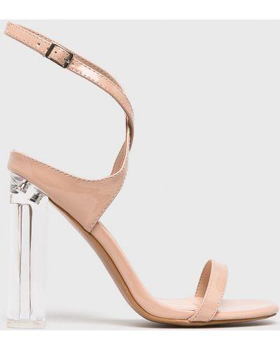 Туфли на каблуке бежевый телесный Glamorous