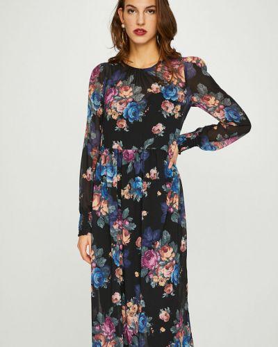 Платье макси расклешенное с длинными рукавами Vero Moda
