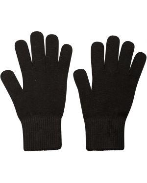 Ciepłe czarne rękawiczki wełniane Mountain Warehouse