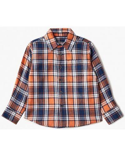 Оранжевая рубашка Sela