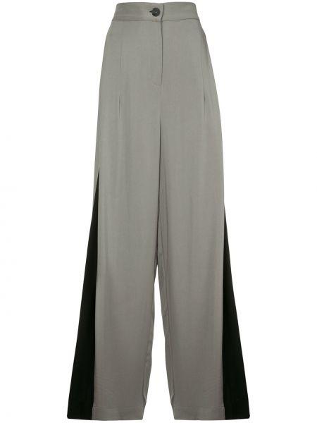 Серые брюки из вискозы Taylor