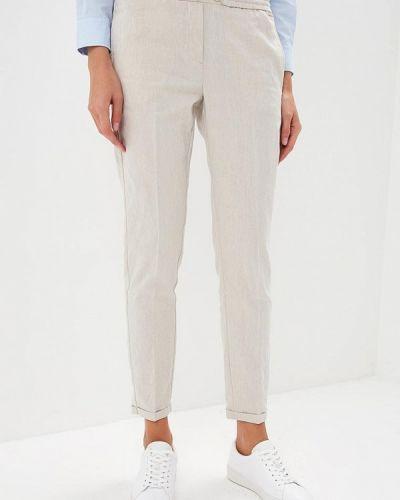 Серые брюки повседневные Woolrich