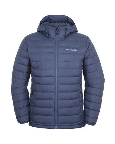 Синяя утепленная куртка Columbia