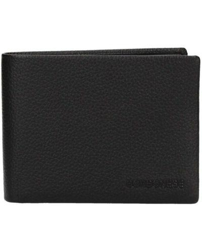 Czarny portfel Borbonese