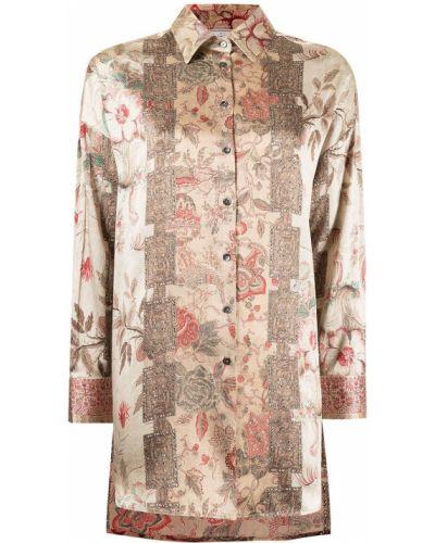 Блузка с манжетами Pierre-louis Mascia
