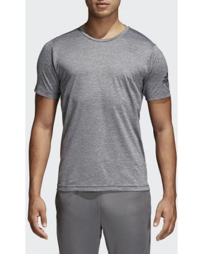 Серая спортивная футболка Adidas