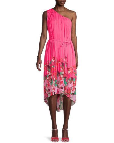 Зеленое купальное платье с поясом в цветочный принт Ted Baker London