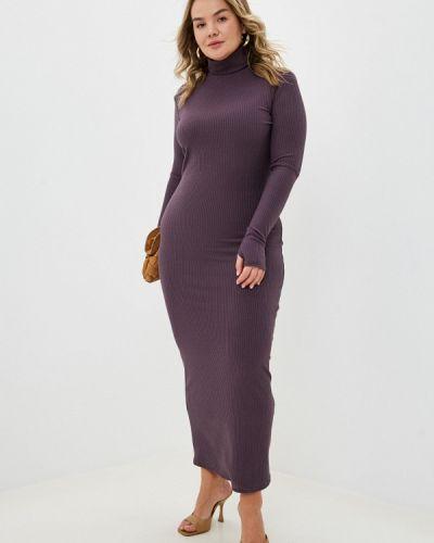 Фиолетовое платье-свитер Trendyangel