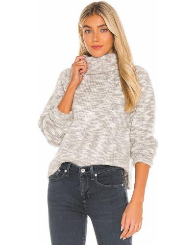 Bawełna codziennie akryl sweter z dekoltem Joie