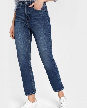 Синие прямые джинсы O'stin