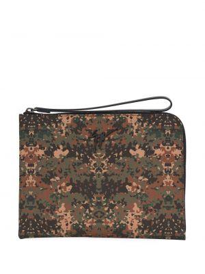 С ремешком коричневая сумка Giuseppe Zanotti