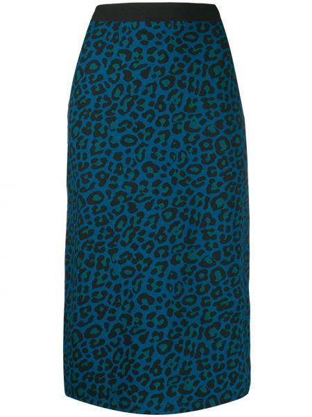 Приталенная юбка с поясом Paul Smith
