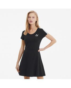 Облегающее платье со вставками классическое Puma