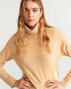 Sweter z wzorem akrylowy Mango