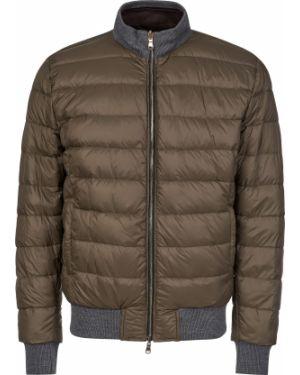 Шерстяная куртка - зеленая Barba Napoli