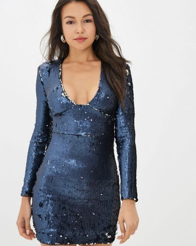 Вечернее платье - синее Gepur