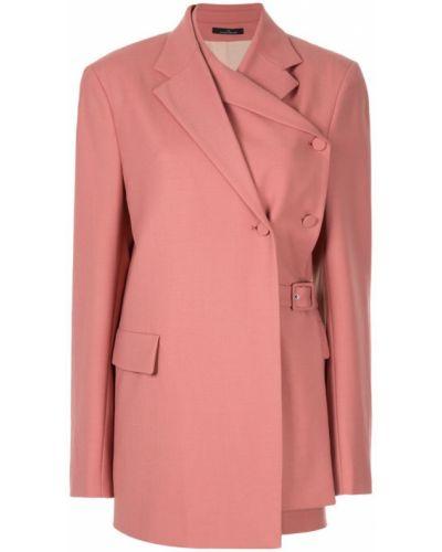 Розовый пиджак Rokh