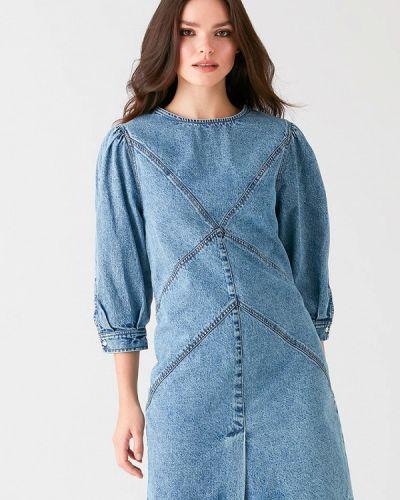 Джинсовое платье - голубое Love Republic
