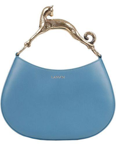 Niebieska torebka Lanvin