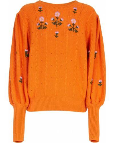 Оранжевая кофта винтажная Gucci