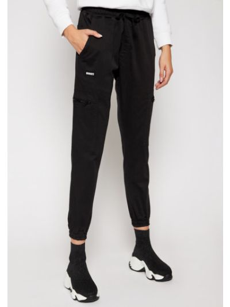 Czarne joggery Diamante Wear