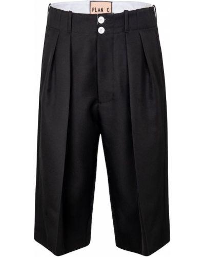 Черные шорты Plan C