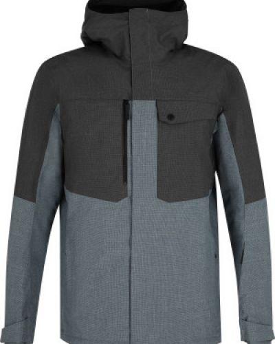 Куртка с капюшоном - серая Salomon