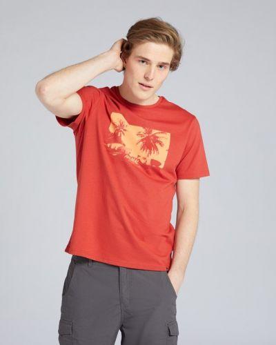 T-shirt z printem Mountain Warehouse
