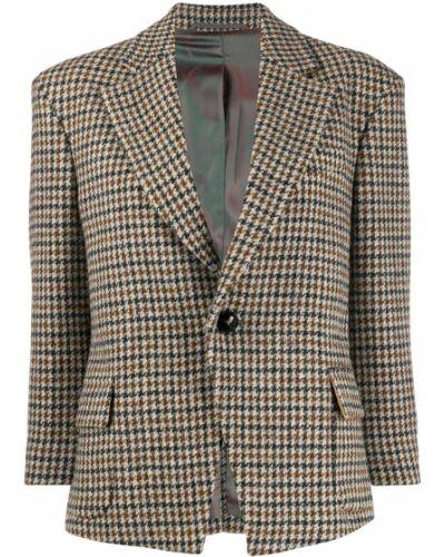 Прямой приталенный удлиненный пиджак с карманами Vivienne Westwood Anglomania